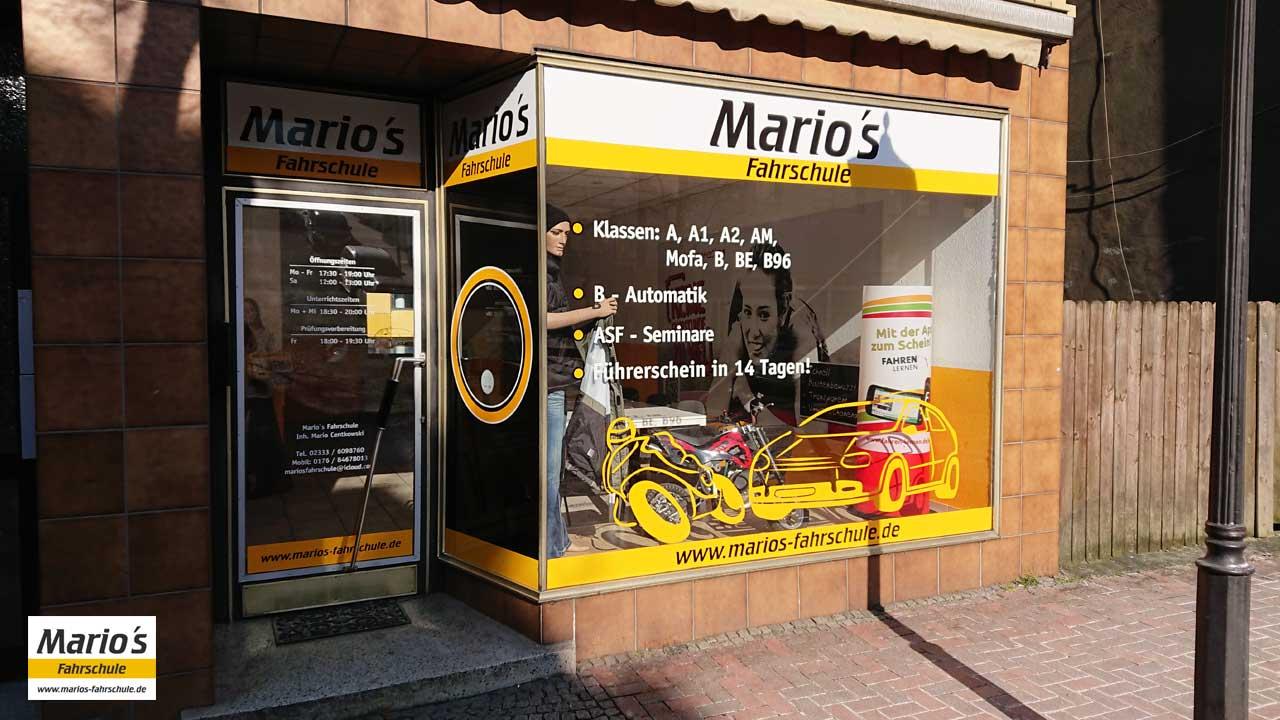 Außenansicht - Mario's Fahrschule, Voerder Str. 95, Ennepetal