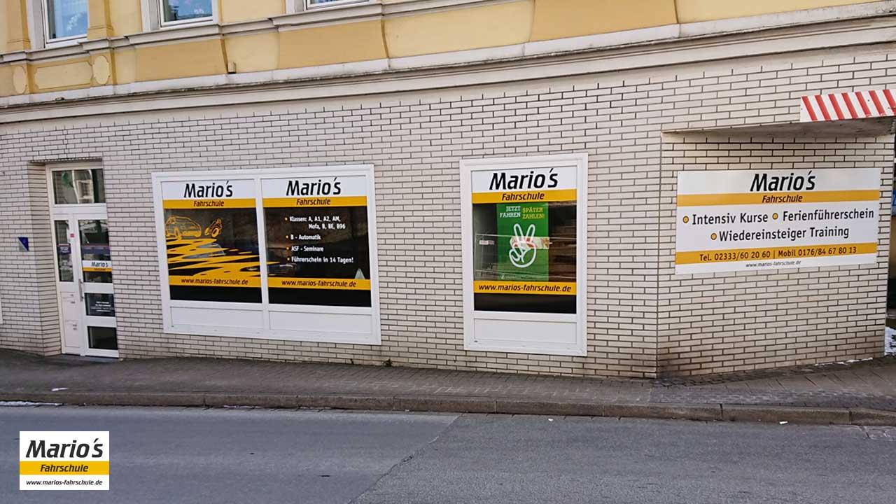 Außenansicht - Mario's Fahrschule, Lindenstr. 4, Ennepetal